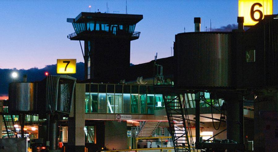 The San José international airport. Photo: Aeris