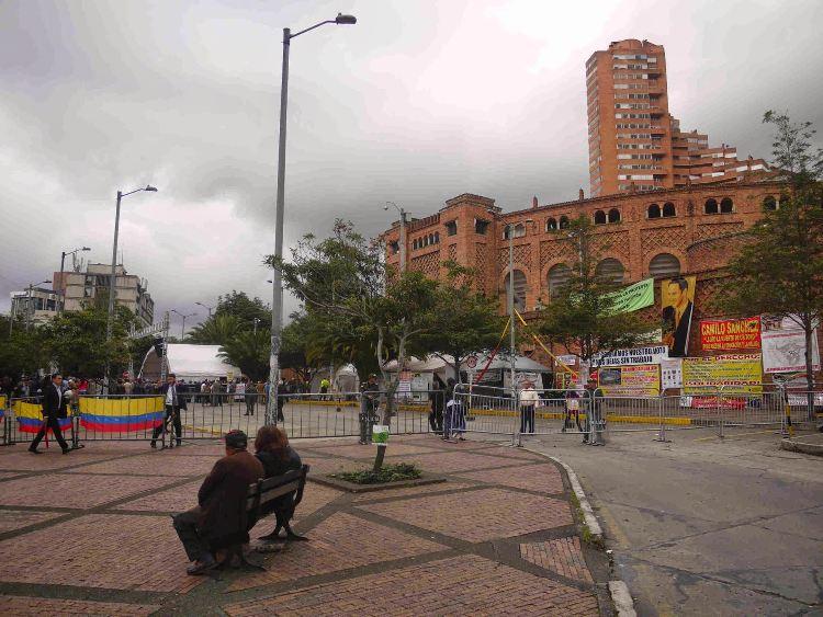 Bogota's bullfighting plaza