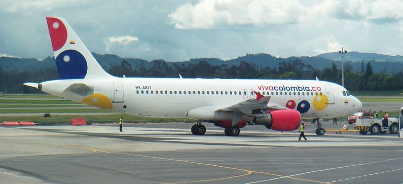 Viva Colombia is the first true low-cost carrier in Colombia.