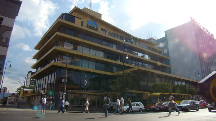 Ministerio de Hacienda (Ministry of Finance) building downtown San José