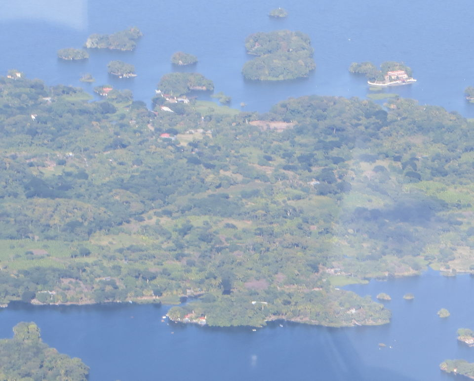 """""""You will see hundreds of islands of all sizes in Lake Nicaragua."""""""