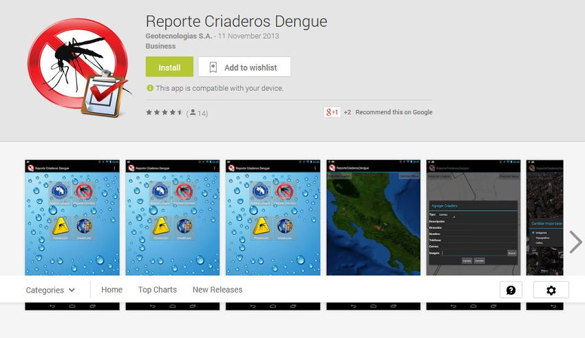 The app is available on Google play and is free to download and use