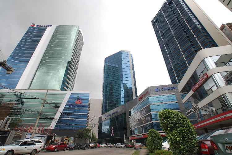 Panama financial district. Source: capital.com.pa
