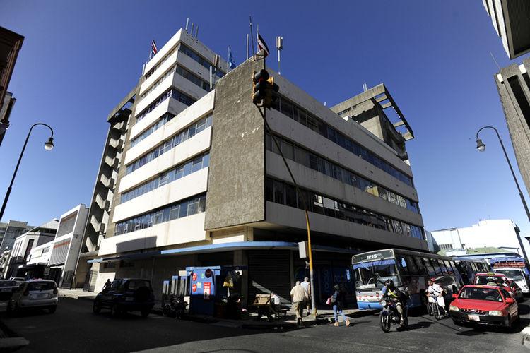 RACSA building in downtown San José.