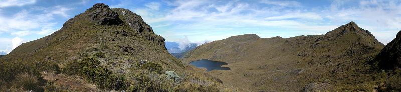 The Valle de los Lagos in Chirripó National Park.
