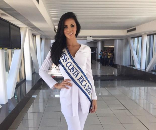 Miss Costa RIca 2014, Karina Ramos