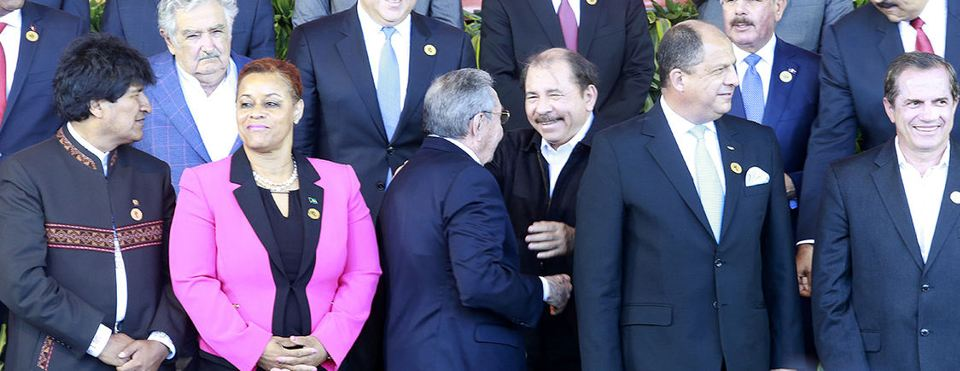 The CELAC group photo