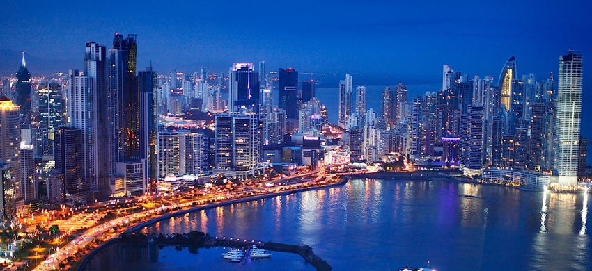 Panama City, Panama Skyline
