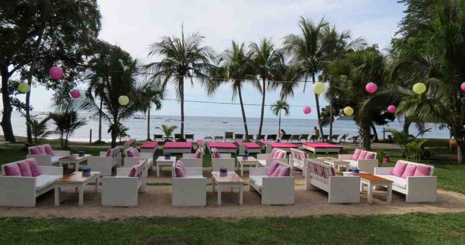 This restaurant on Coco Beach is part of the site where Four Palms Marketing representatives currently host their sales presentations. Photo by Arianna McKinney