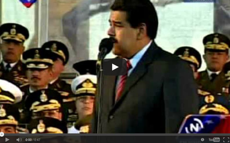 Nicolas Maduro: 'There is a group of terrorists in Costa Rica that has come there to try to threaten me'