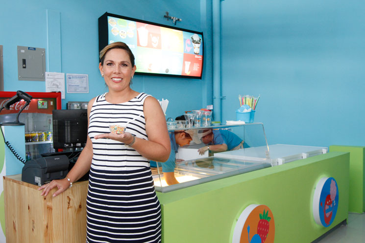 Mónica Rojas Calleja, general manager of Oasis Group, franchisee of  Dippin' Dots in Costa Rica.