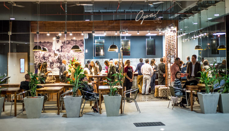 Opa! cafe in Los Yoses