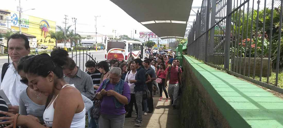 Job fairs will be held in Heredia, San Pedro and Escazu