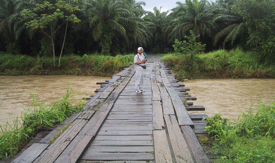 Bridge like this continue to exist in rurals of the country. Photo from Rathburn.net