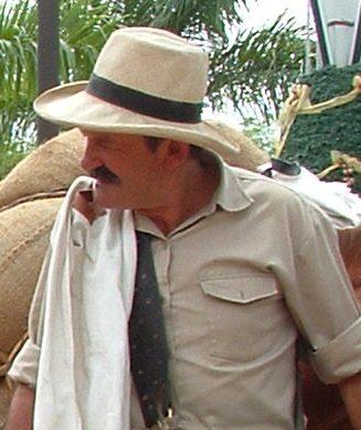 Actor playing Juan Valdez