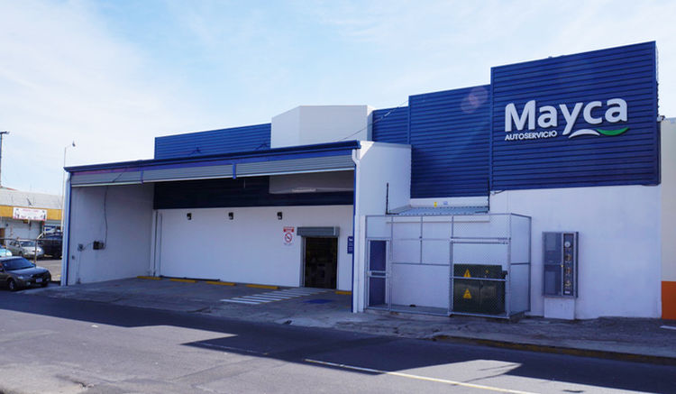 The Paseo Colon Mayca wholesale supermarket, locatedd across from the Children's Hospital