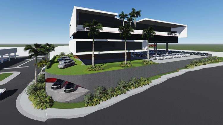 Purdy Motors planned construction of Toyota Tower in Toyotaland in La Uruca