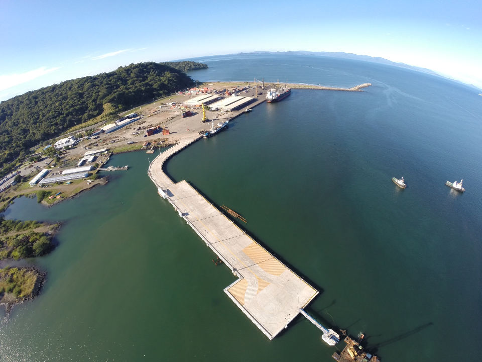 The new Caldera port, at an investment of US$34 million dollars, was ready to be operations in November 2014, but due to red tape today sits idle.