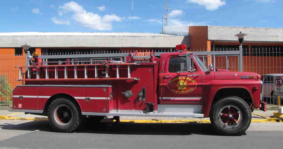 Imported Fire Truck Now in Nosara