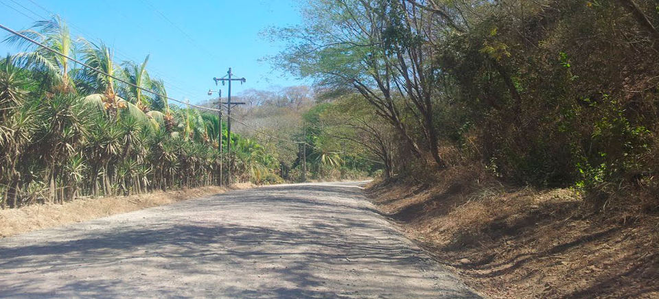 The 21 kilometre gravel road that leads visitors to Costa Rica's  highly visited beaches like Tambor, Mal Pais and Santa Teresa.