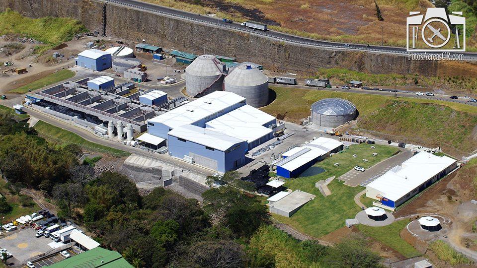 Water Treatment Plant Los Tajos, La Uruca (San José)