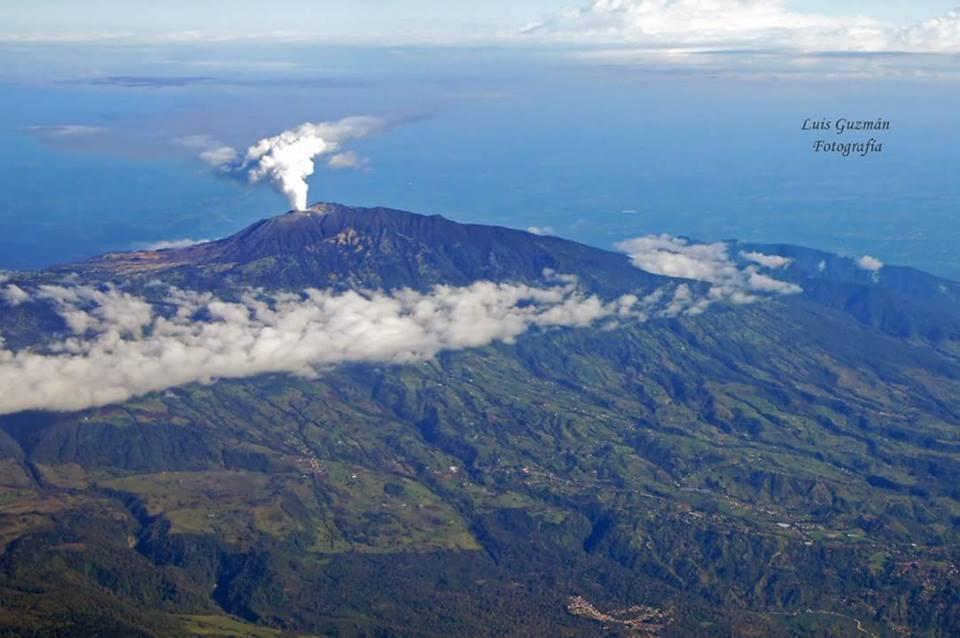The Turrialba Volcano, Turrialba, Costa Rica