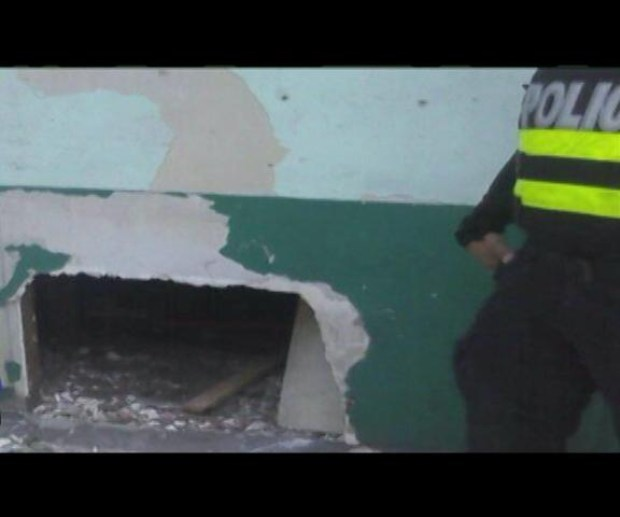 Thieves Make Hole In Wall To Steal Television From Downtown San Jose Bar