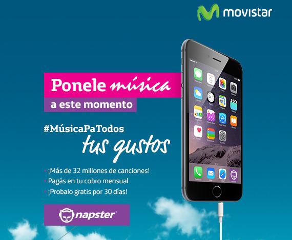 Movistar Launches Napster in Costa Rica
