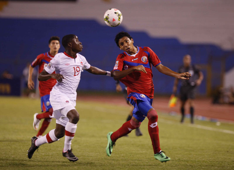 Costa Rica Prevents Canada From Qualifying for FIFA U-17 World Cup
