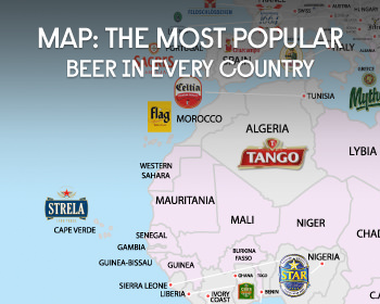 MAP: The Most Popular Beer In Every Country