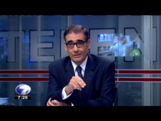 Teletica news director, Ignacio Santos