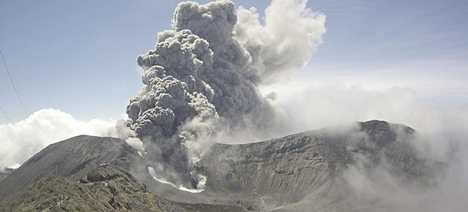 The Turrialba volcano is one of 40