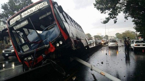 Tuesday Afternoon Traffic Accident Causes Tremendous Congestion On General Cañas
