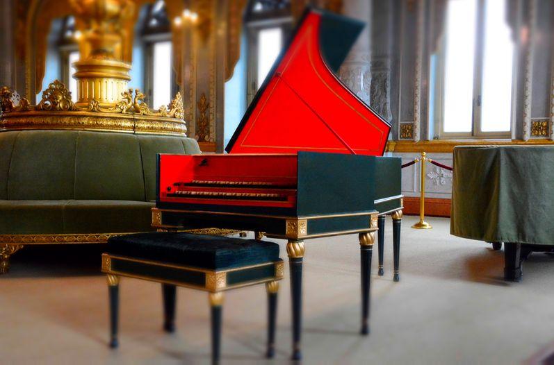 Teatro Nacional Restored 37 Year Old Harpsichord