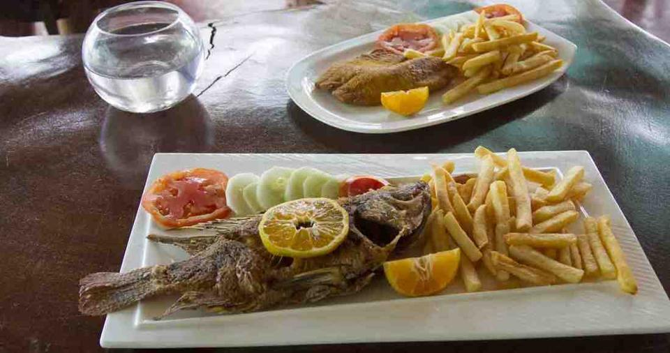 Tasty Tilapia you can catch yourself and served on your dish. Photo by