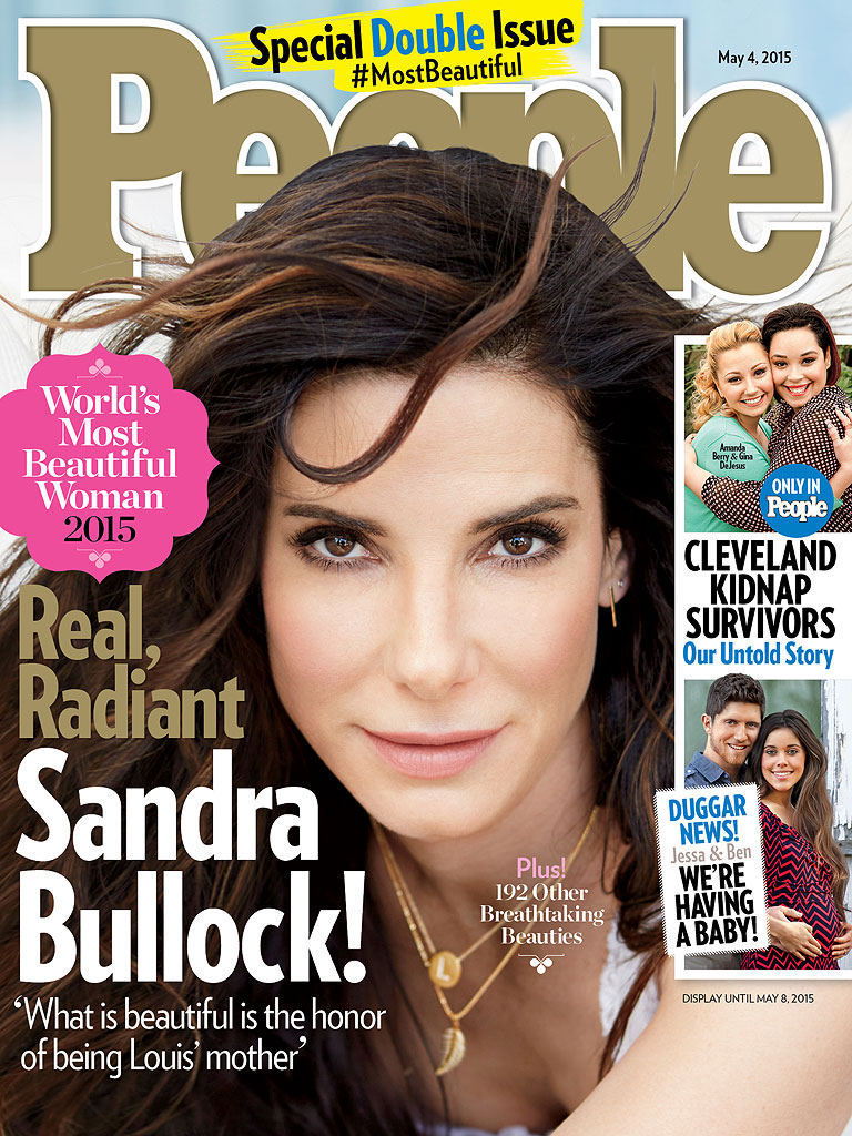 Sandra Bullock Is PEOPLE's 2015 World's Most Beautiful Woman!
