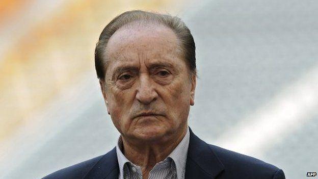 Eugenio Figueredo replaced Nicolas Leoz as Conmebol president in 2013