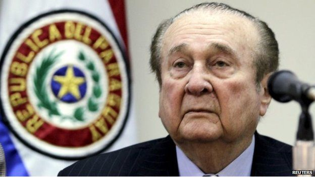 Nicolas Leoz used to be an influential figure in Fifa, but resigned in 2013