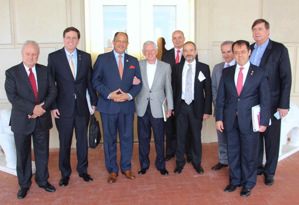 Photo from Casa Presidencial website