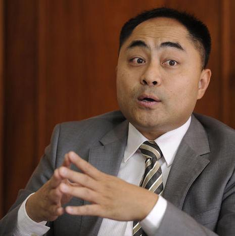 China's business counselor to Costa Rica,  Liu Xiaofeng