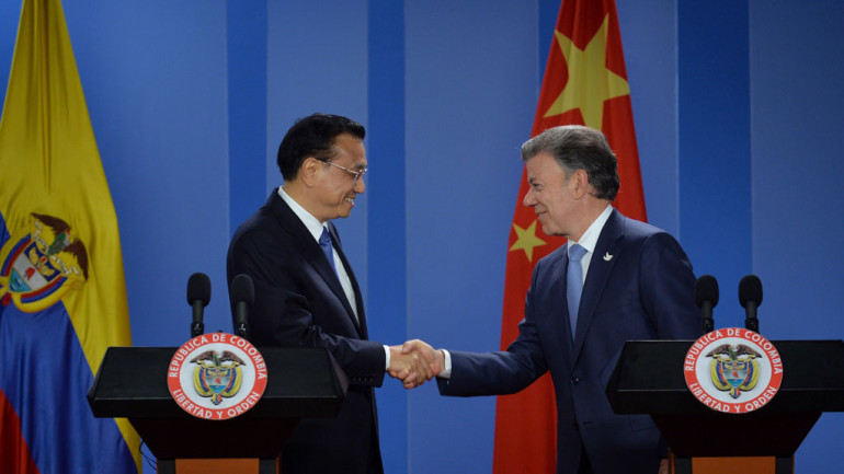 China, Colombia Launch Free Trade Talks