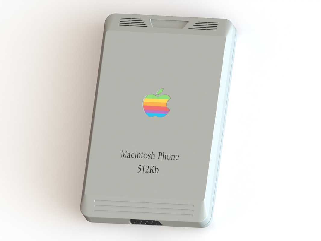 The Apple Macintosh Phone Concept