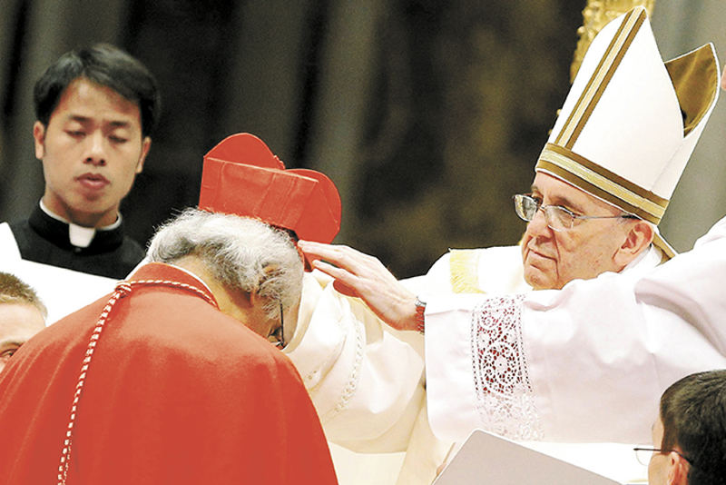 Pope Francis, on 22 February 2014, inducted Nicaragua's archbishop Leopoldo Brenes, along with 18 others, into the College of Cardinals. Brenes is the second in the country's history.