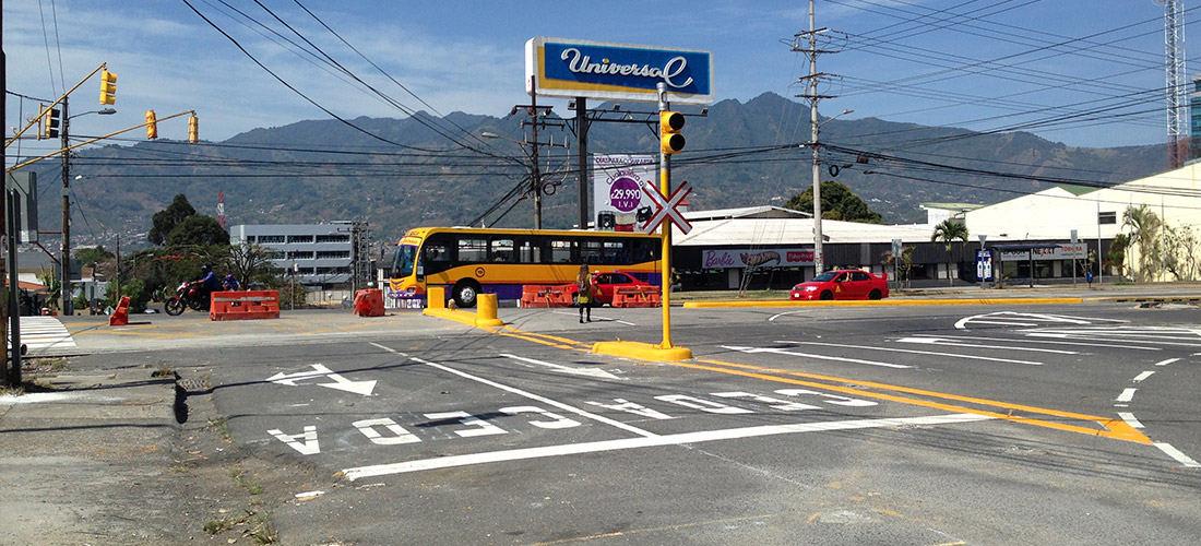 La Sabana Intersection Changes Effective May 18
