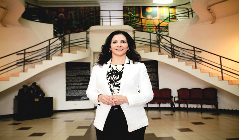 Partido Liberacion Nacional (PLN) legislators Paulina Ramirez.  Photo Gerson Vargas, La Republica