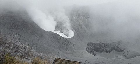 Security Ring Around Turrialba Volcano Increased to 5 Kms.