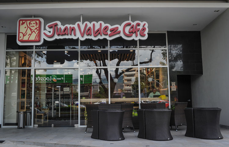 Juan Valdez located in la Sabana.Rohrmoser