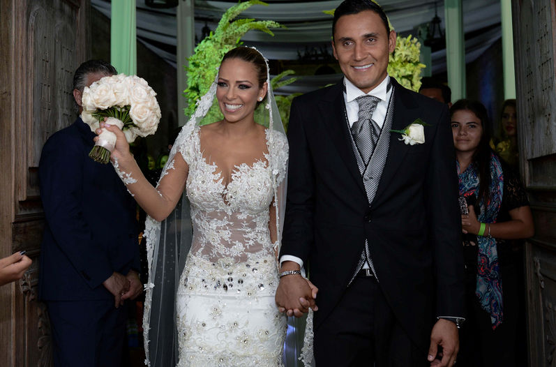 Keylor and Andrea: The Wedding Of The Year!