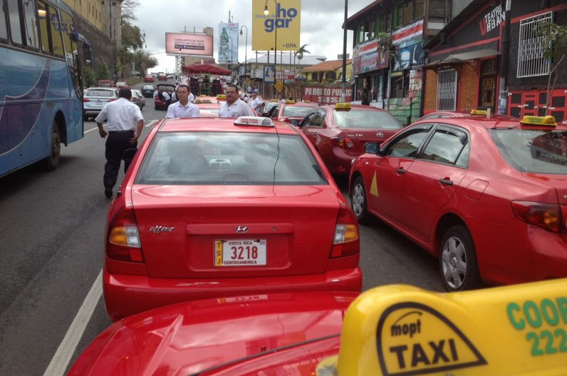 Formal taxis are against Uber starting operations in the country