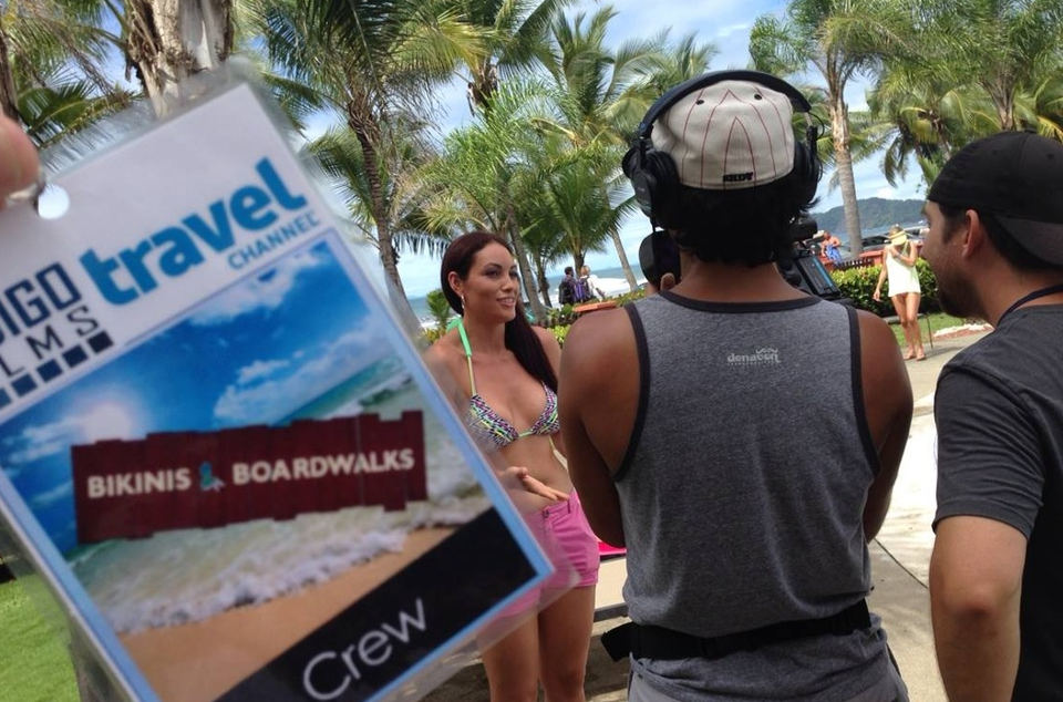 Travel Channel Comes To Playa Jacó, Costa Rica